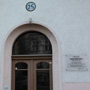 Niedstr. 25 in Friedenau. Hier wohnten Edgar Hilsenrath und Günther Weisenborn. Foto: Helga Karl