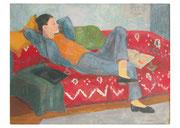 OVPKMM07001 Karl auf dem Sofa