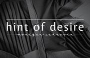 Logo en huisstijl Hint of Desire