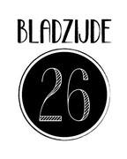 Ontwerp logo voor blog Bladzijde26.nl