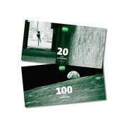Gutscheine zu 10,- / 20,- / 50,- und 100,- €