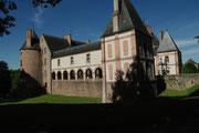 Le château, propriété privée, mais visitable