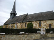 l'église de Camembert