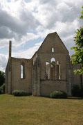 L'église Saint Lubin qui ne fut jamais achevée