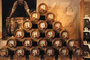 Les tonneaux de whiskies