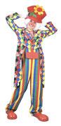 Clown Streifen/Karo