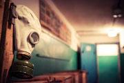 Gasmasken für die Zivilbevölkerung