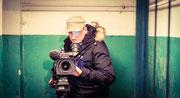 Dreharbeiten im Luftschutzbunker Kiew