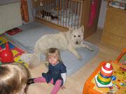bei Magdalena im neuen Kinderzimmer