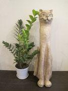 Кот Лео.Интерьерное украшение из папье-маше