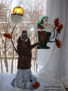 Совунья. Сухое валяние. по заказу Дианы ван Ходло. частная коллекция Москва .Фото Дианы Реализованный проект