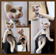 Компьютерная кошка Вуалька. Частная коллекция Петербург