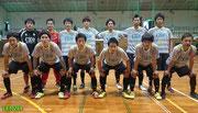 中国フットサルリーグ 第7節 vs P.l.e.de.益田