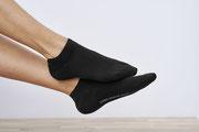 Sneakersokken Abby, zwart, Living Crafts