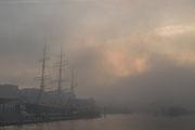 Nebel an der Rickmer Rickmers