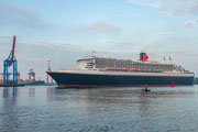 Die Queen - Queen Mary 2