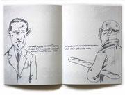 "Daniil Charms ""Begegnung"", 2007, Künstlerbuch"