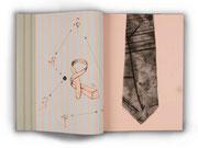 """Krawattenbuch – Novaja kollekcija"", 2002, Künstlerbuch"