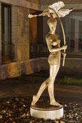 """Marianne Frenzel - """"Brunnen Skulptur von M. Chodakowska"""""""
