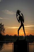 """Oliver Aubel - """"Nachdenken im Sonnenuntergang"""""""