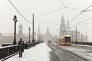 """Patrick Piontkowski - """"Dresden im Schneegestöber"""""""