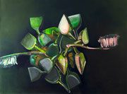Replication of brush and shovel , 2016, oil on canvas, 100 x 130 cm