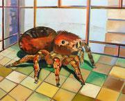 Pavoncella, oil on linen, 80 x 100 cm