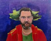 Markus, 2020, Öl auf Leinen, 80 x 100 cm