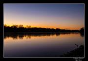 © Objectif Loutre - Stéphane Raimond -coucher de soleil sur la Loire
