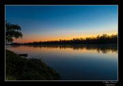 © Objectif Loutre - Stéphane Raimond - coucher de soleil sur la Loire