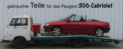 Peugeot 306 Cabrio Teile Ledersitze