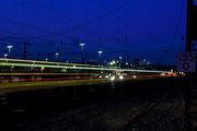 """Schwerte - Bahnhof """"Zug durch die blaue Stunde"""""""