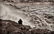 Tempête en mar