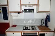 Viel Platz in der Küche