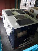 Dachansicht mit 3x80 Wp Solarpaneels (MT 80 CIS Module von Büttner)