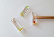 """""""かいらし箸置き""""   chopstick rest     H7×W12×D50"""
