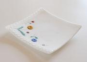"""""""ハンカチーフ""""  plate     -handkerchief-    H20×W240×D240"""