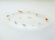 """プレート""""フォール・ガーデン""""  plate   -fall garden-     H20×W390×D180"""