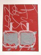Früchte des Zorns 1.4   30x40 Acryl und Ölkreide auf Papier