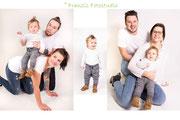 Leinwandvorschlag Familienshooting Familienfotos Franzis Fotostudio Walle