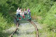 Le vélorail Bommereau les mines
