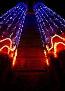 Colonnes de lumières