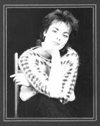 Porträt Birgit sitzend 1