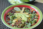 slow cooker tortilla soup - vegan! - homemade nutrition - www.homemadenutrition.com