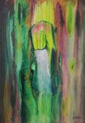 in the flow 100 cm x 70 cm Leinwand auf Keilrahmen, Acryl, fixiert