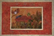 Harmonie 100 cm x 80 xm Leinwand auf Keilrahmen, Öl auf Acryl, fixiert