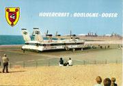 France Anonyme HOVERCRAFT  BOULOGNE-DOVER - Plage du Portel