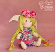 Кукла Эльфочка, подарок девушке, девочке. Маслик Ольга