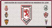 Web de la Asociación de Coleccionistas de Insignias Deportivas de León. Podéis comprar lotes de pins de fantástica calidad e incluso encargar los vuestros propios.