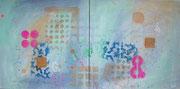Colour script - Zweiteiler (40 x 40cm x 2)